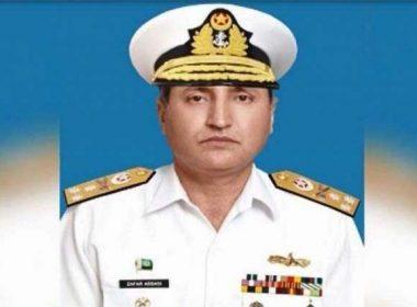 Admiral Zafar Mahmood Abbasi