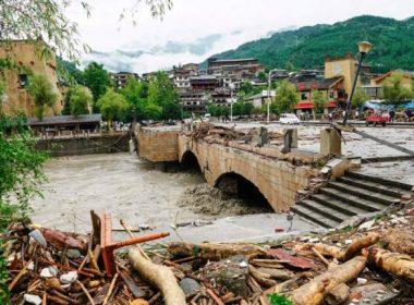 China mudslides