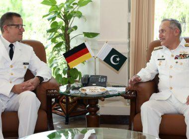 PAK NAVL CHIEF and German Naval Chief