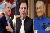 Pakistan Turkey and Malaysia