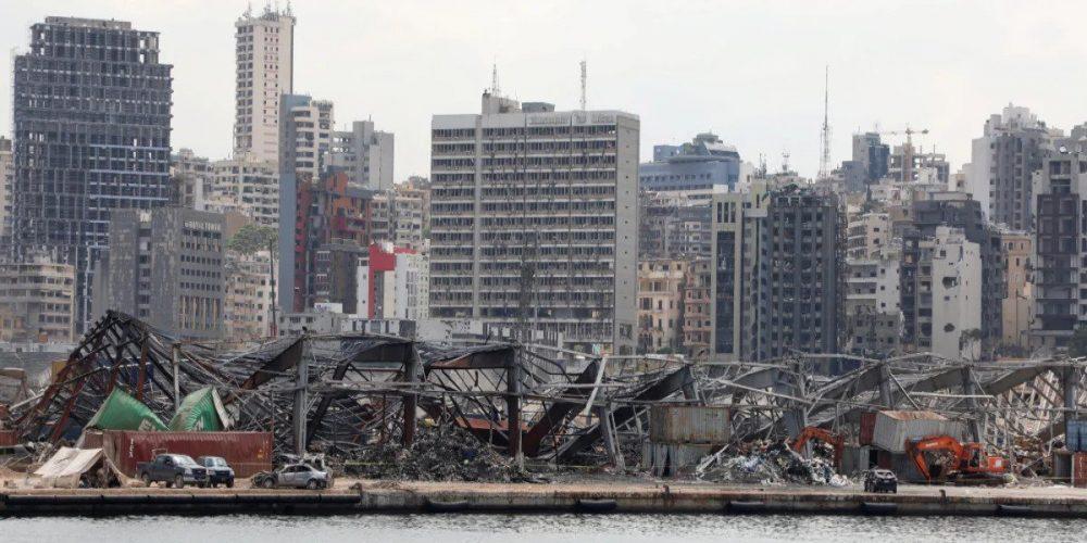 beirut rubble