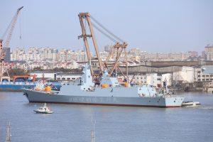 Chinese Shipyard Pakistan Navy