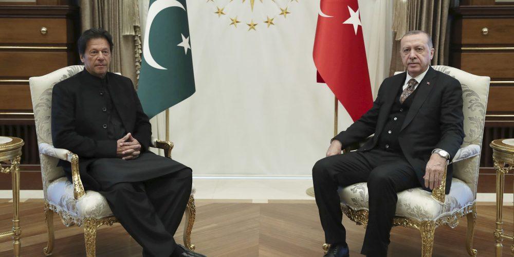 Pakistan and Turkey scaled