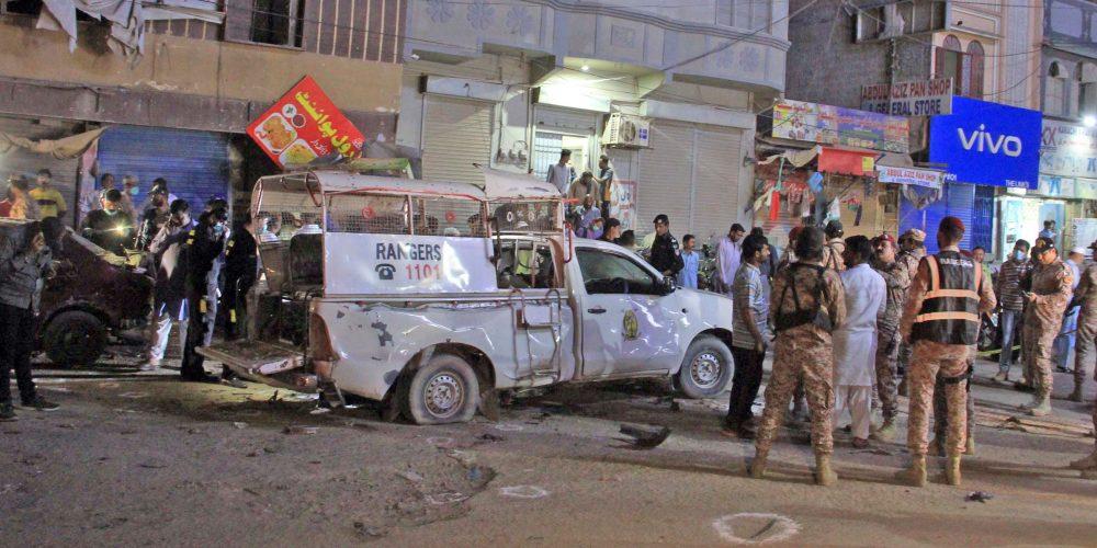 Karachi ranger blast