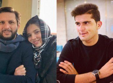 Shaheen Afridi and Shahid Afridi