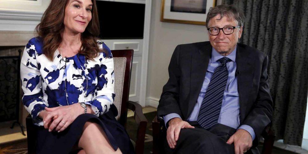 Bill Gates and Melinda