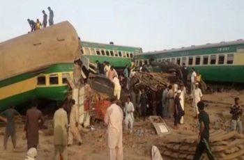 Train Accident Ghotki