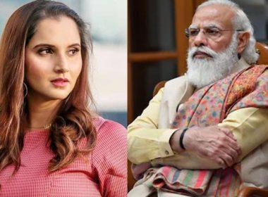 Sania and Modi